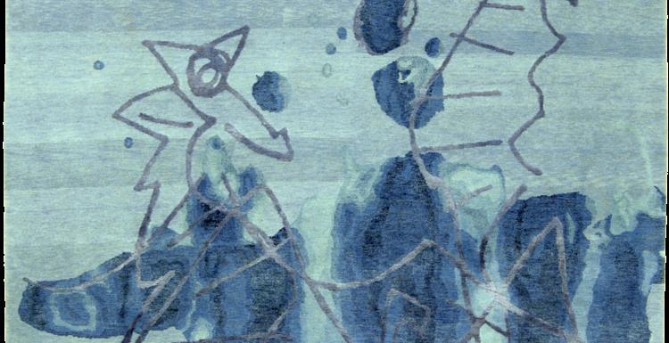 tappeto moderno wildhorse