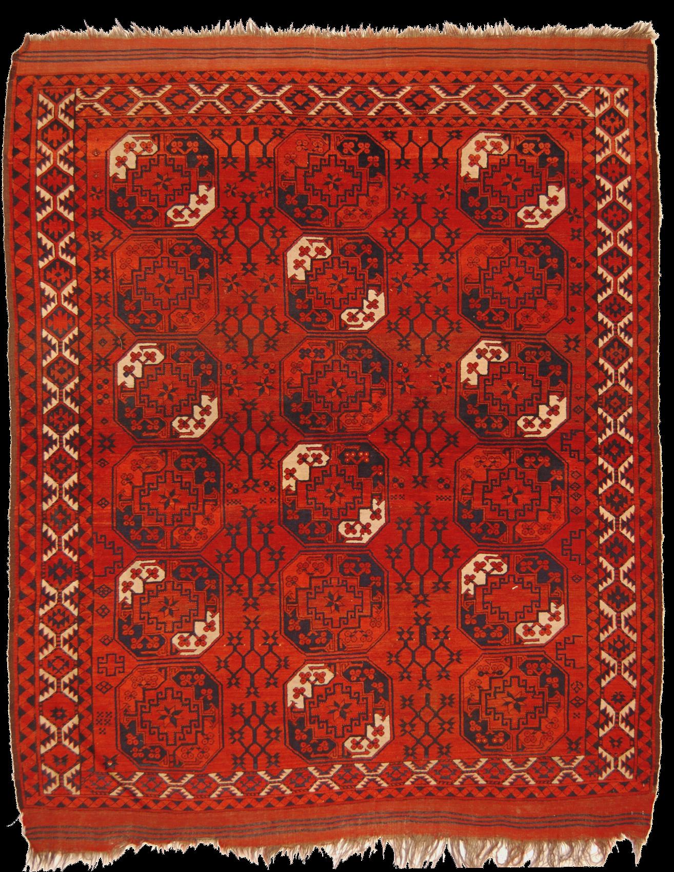 tappeto turcomanno ersari