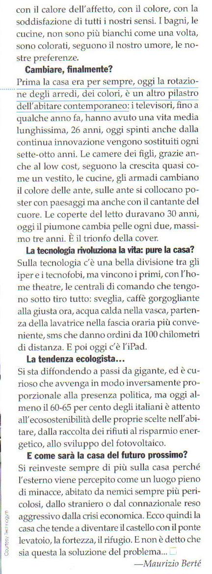 Articolo di Maurizio Bertè