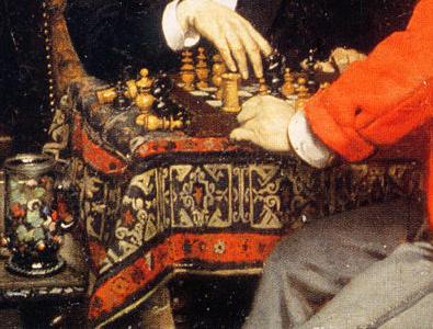 Tappeti e scacchiTappeto caucasico?
