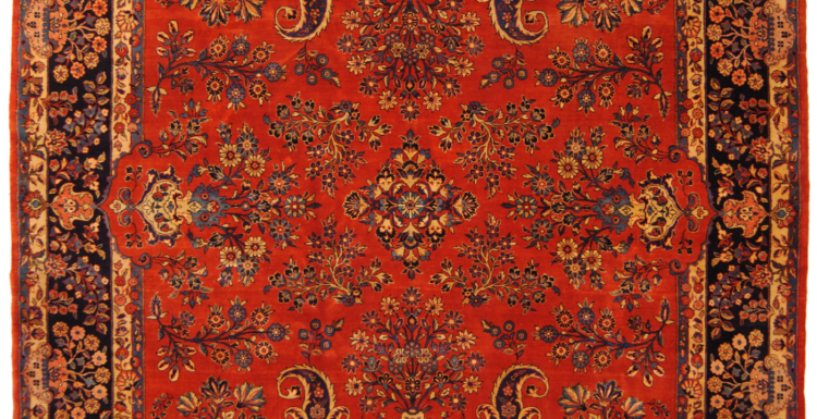tappeto Qazvin persiano