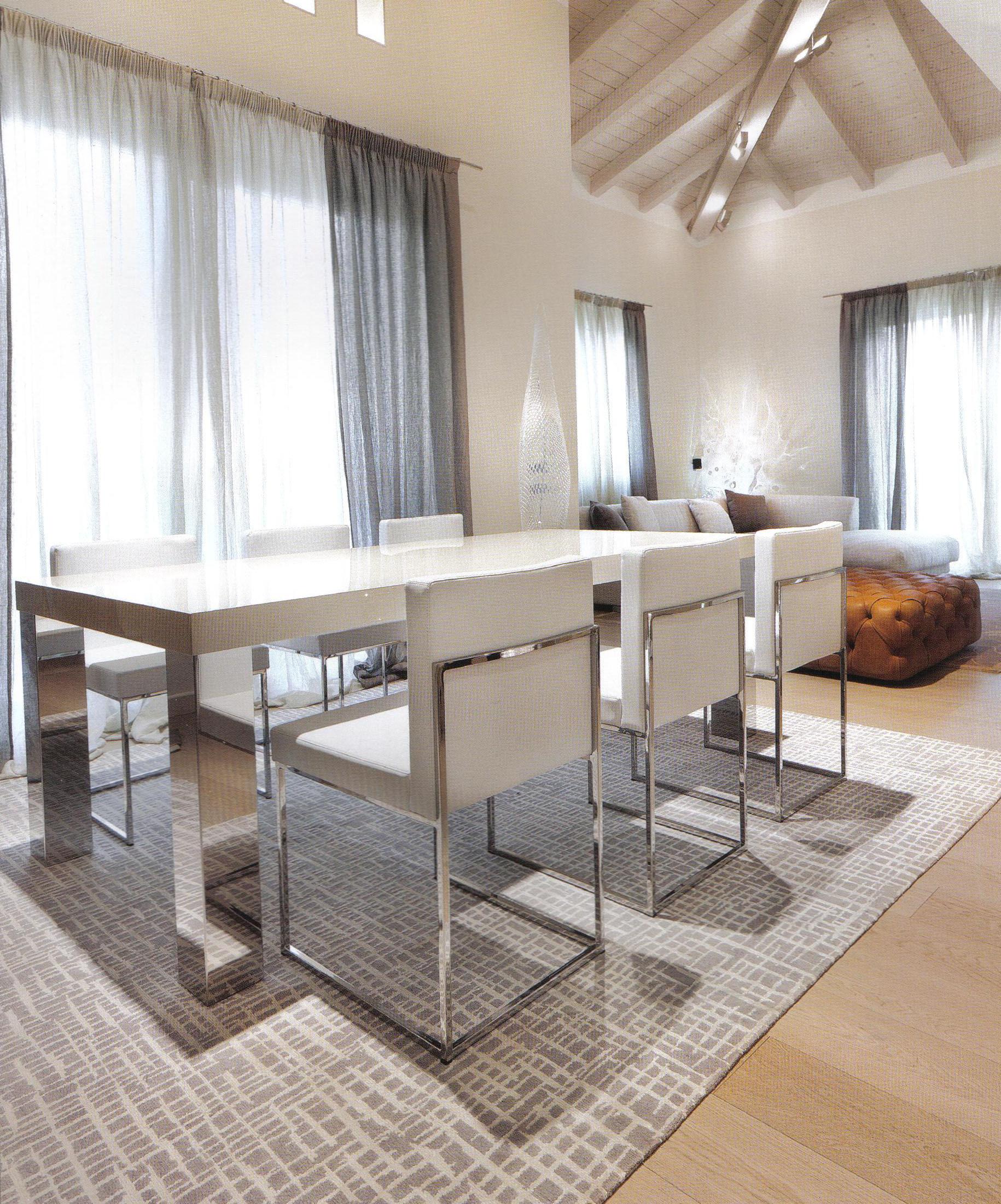 Tappeti contemporanei in ambiente moderno morandi tappeti blog - Tappeto sotto tavolo ...