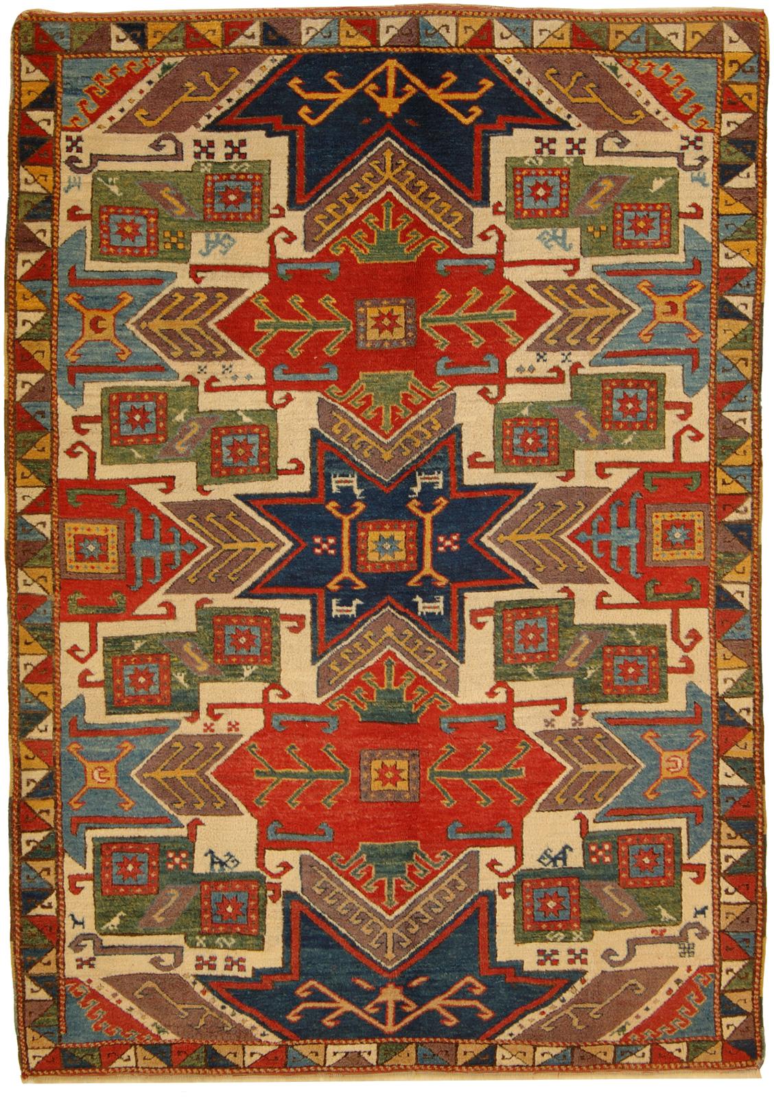 tappeto star kazak