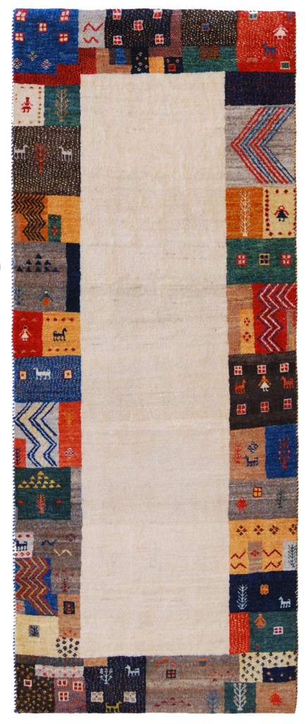 tappeto qashqai moderno
