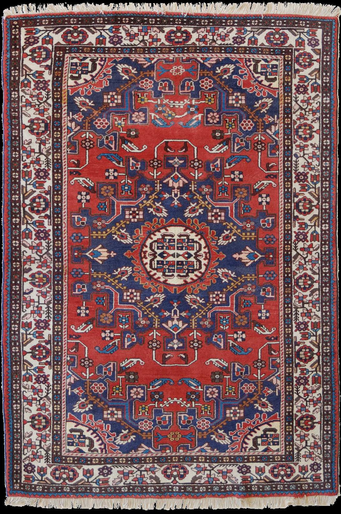 tappeto persiano vecchio