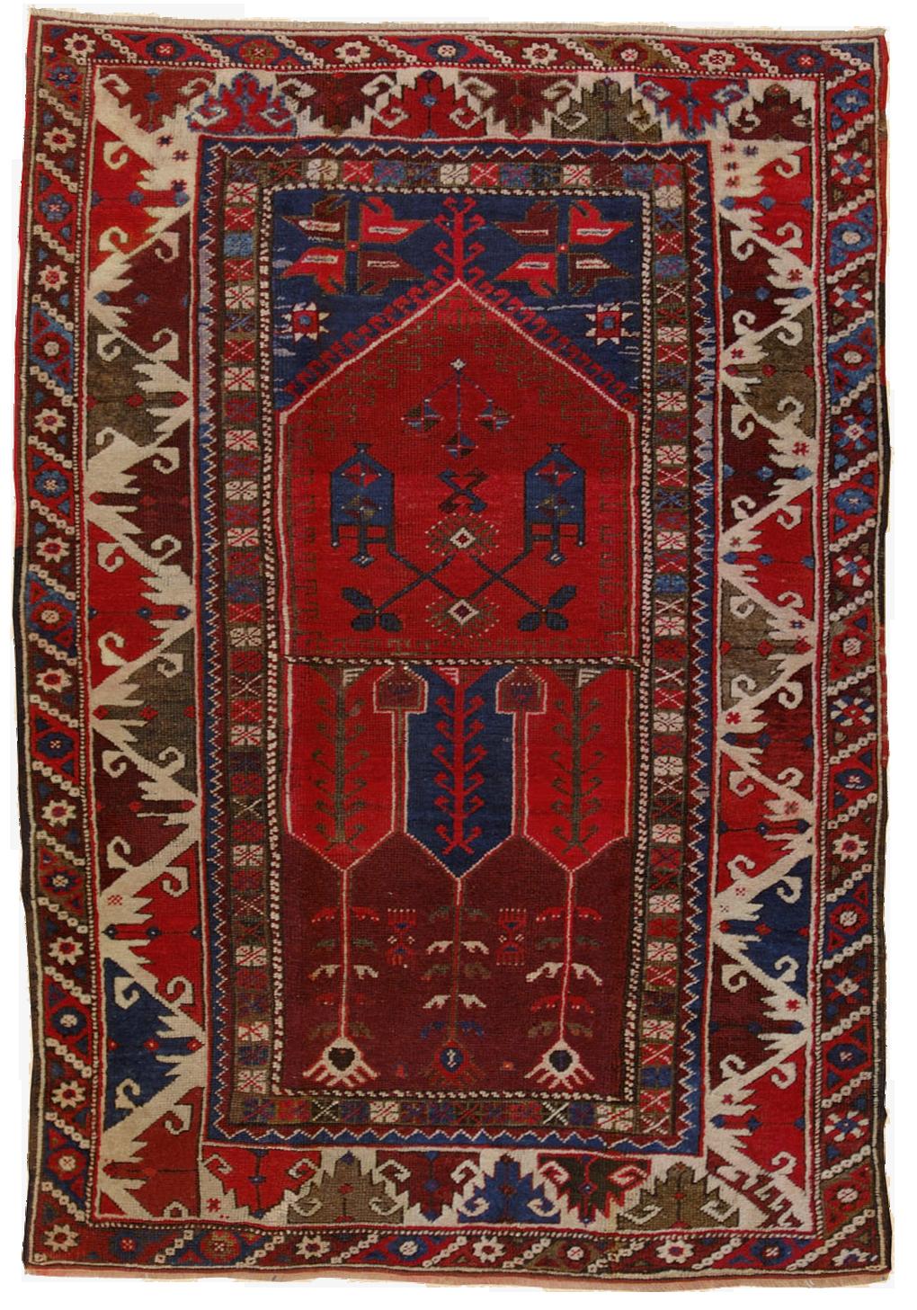 tappeto antalya antico