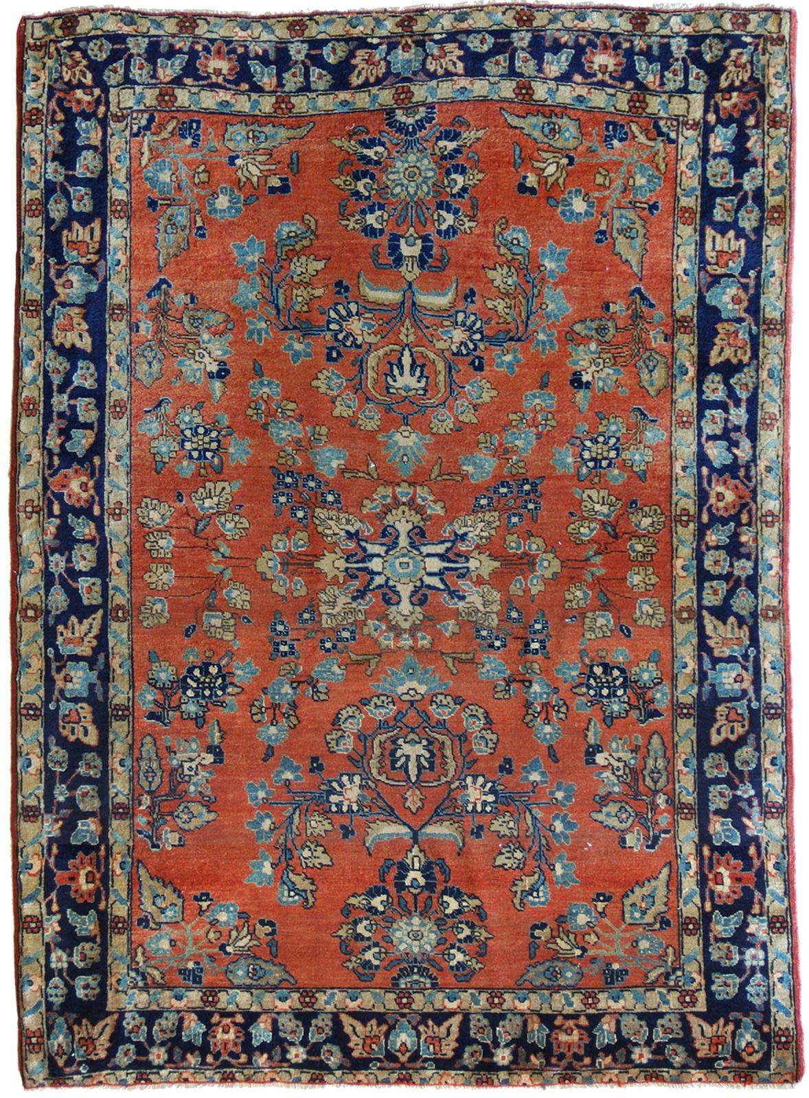 tappeto persiano sarouk