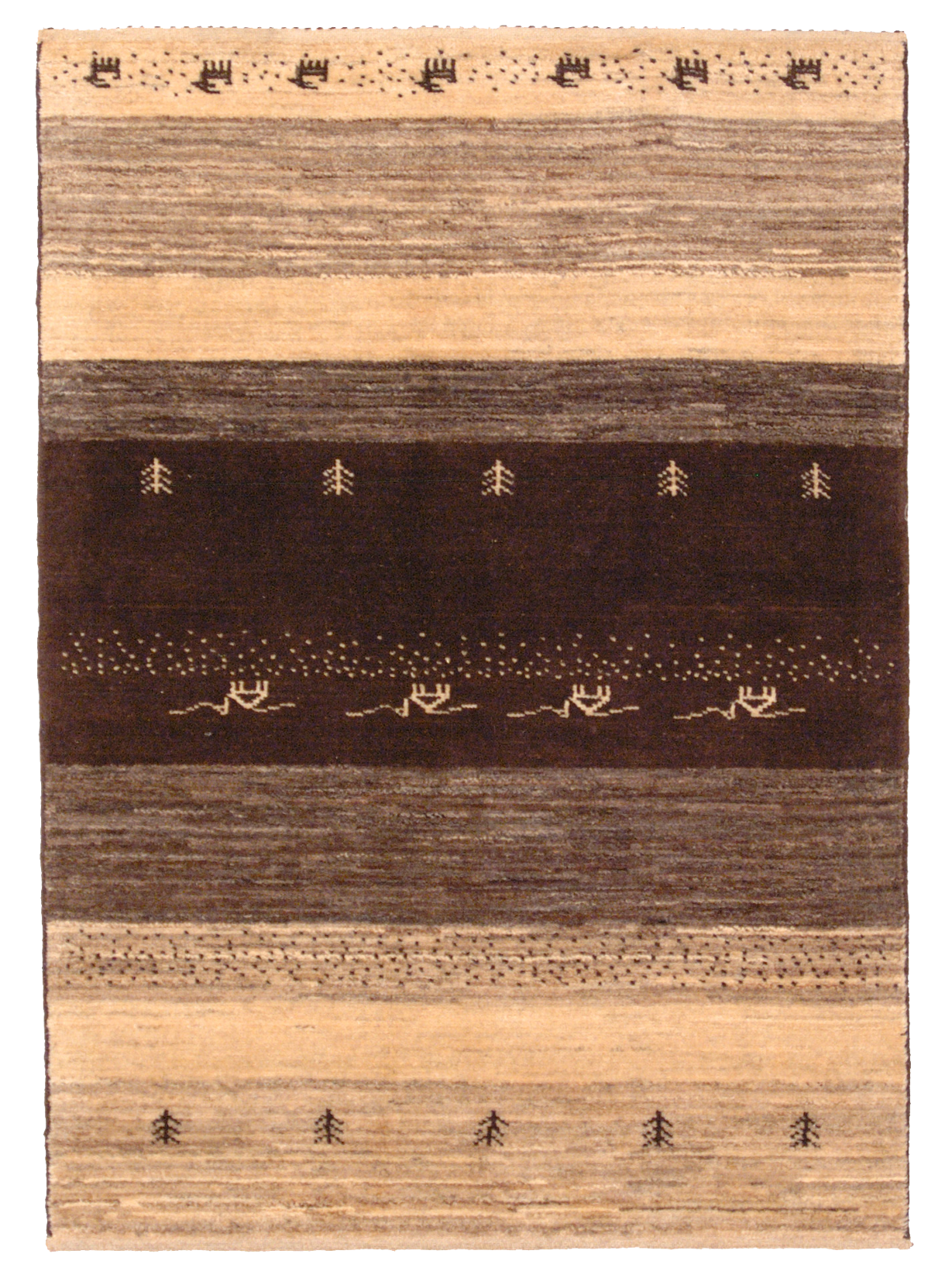 tappeto gabbeh persiano