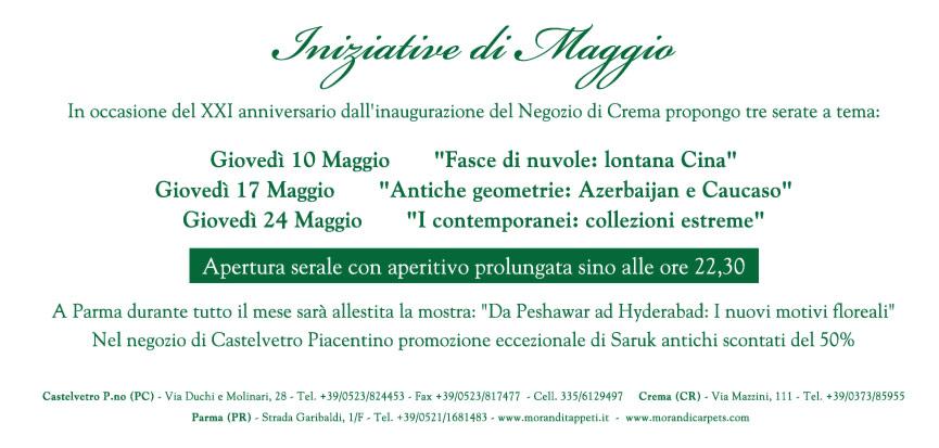 XXI anniversario Morandi Tappeti