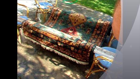 L'aria passando anche sotto il tappeto consente una perfetta ascigatura.