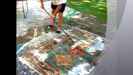 Lavaggio del tappeto