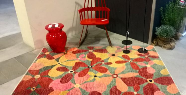 Abitare la casa con i tappeti Morandi
