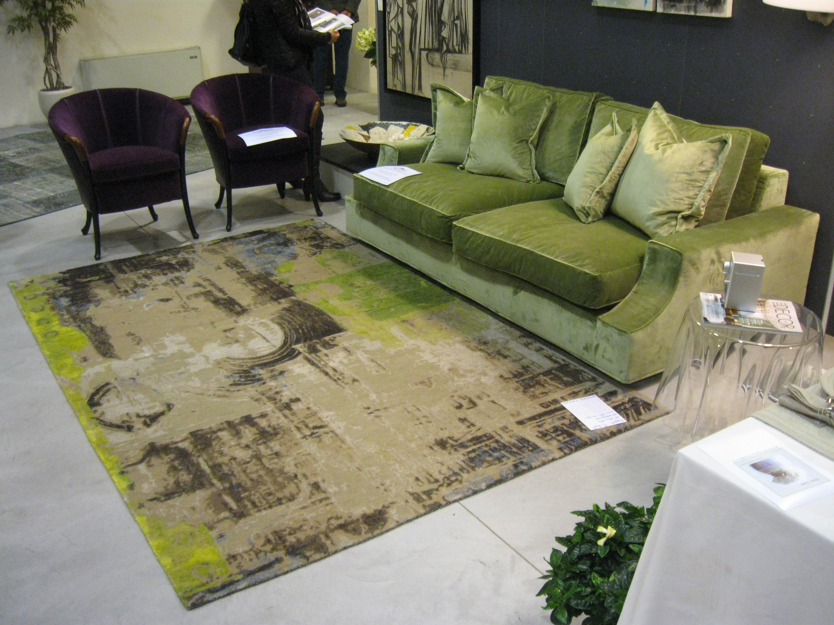 Mostra abitare la casa morandi tappeti blog - Lavare i tappeti in casa ...