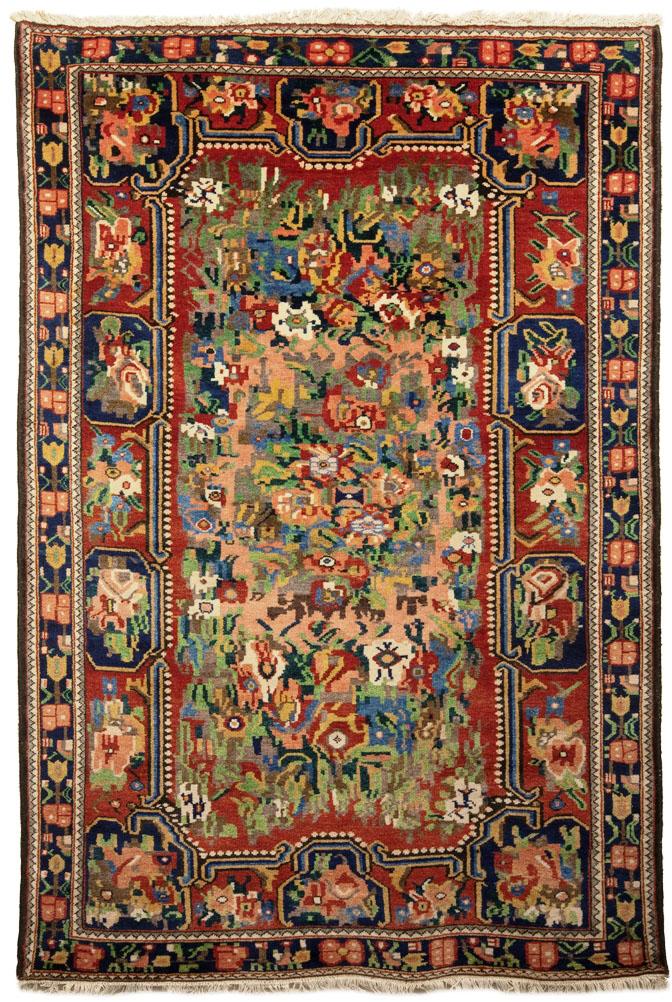 Bakhtiari tappeto gul farange