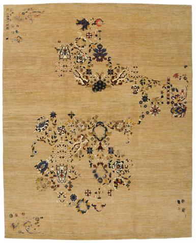 Iran tappeto persiano moderno