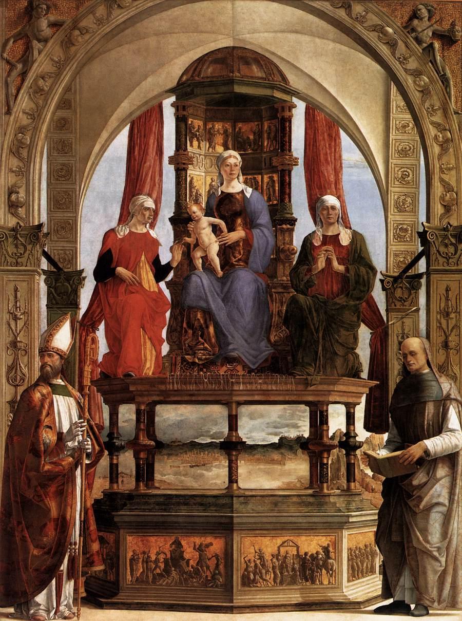 Tappeto nella pala di Ravenna