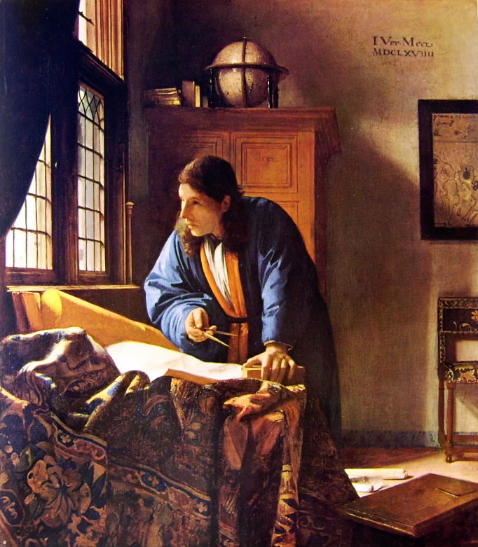 Il Geografo Jan Vermeer