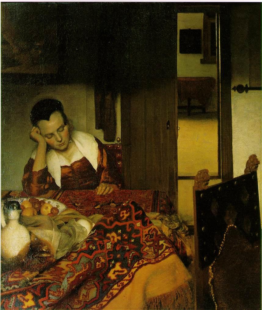 La dormiente Vermeer