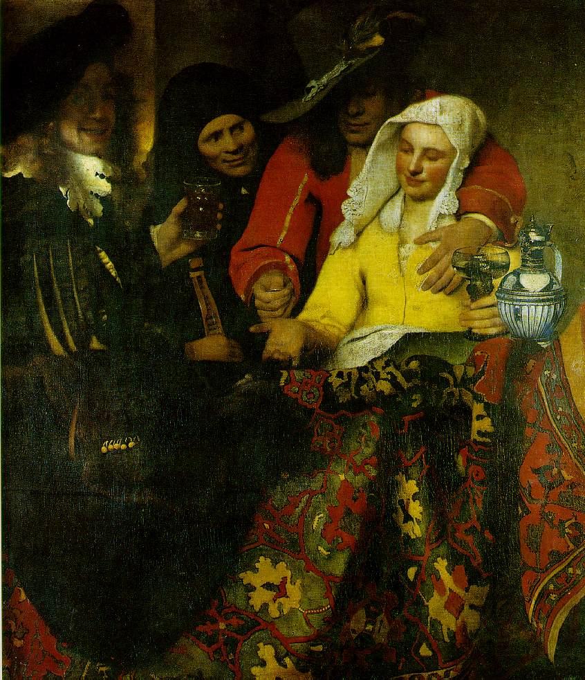 La Maitresse Jan Vermeer