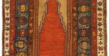 Tappeto anatolico antico Zile