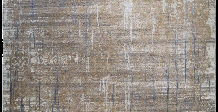 tappeto bhadohi moderno