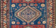 tappeto caucasico shirvan