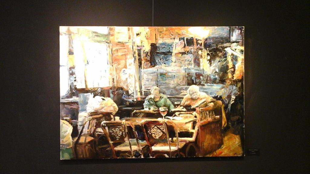 olio su tela di Kostya Lupanov