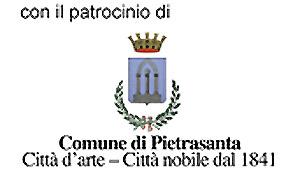 Con il patrocinio del Comune di Pietrasanta