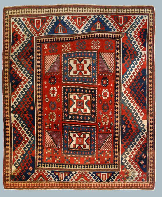 Tappeti caucasici a telaio orizzontale morandi tappeti blog - Tappeti damascati ...