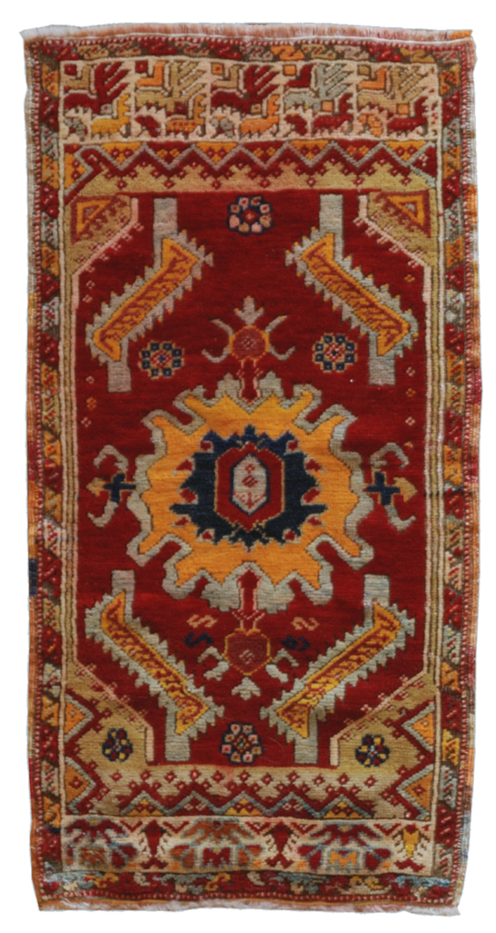 tappeto anatolici antichi