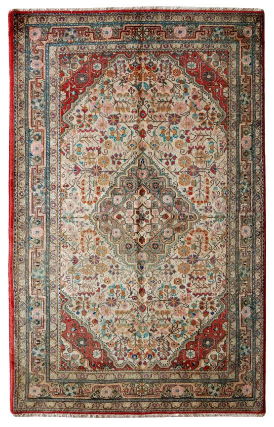 Tappeto persiano Vecchio Djosan o Josan misura Pardeh