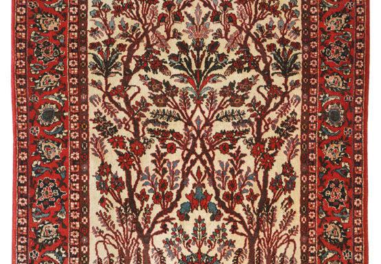 Tappeto persiano Vecchio Najafabad