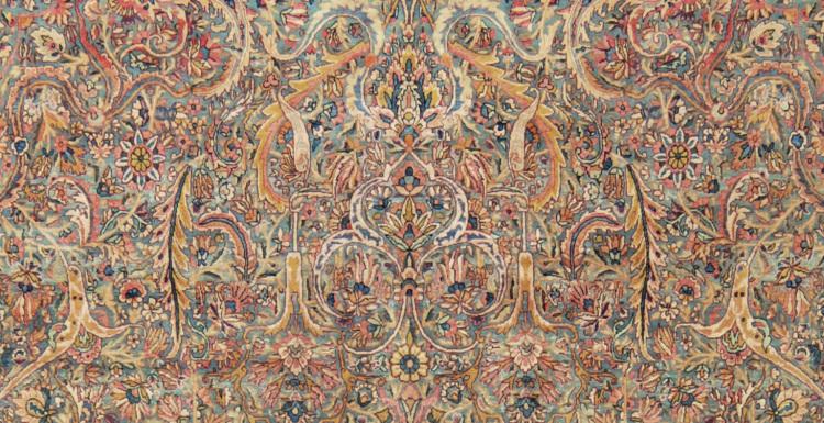 Antico tappeto Kirman
