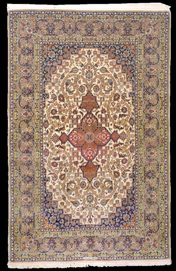 tappeto isfahan persiano