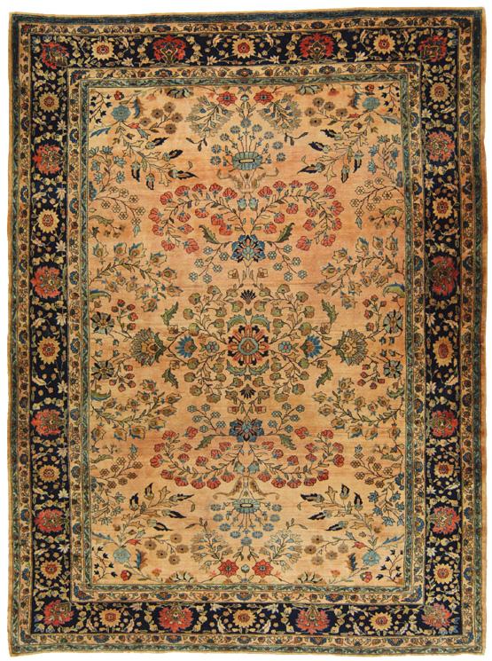 Tappeto persiano floreale