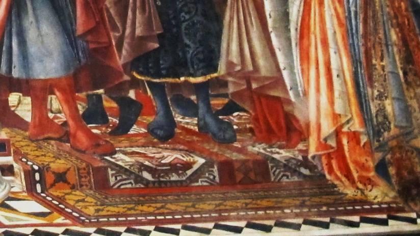 Particolare del tappeto Ottomano
