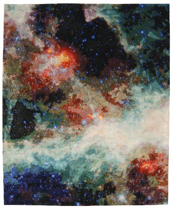Camminare tra le Stelle: la Collezione di Tappeti Jan Kath vi Permette di Toccare il Cielo con un Dito