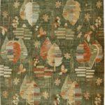 La Natura Sotto i Piedi con un Pregiato Tappeto Floreale Contemporaneo