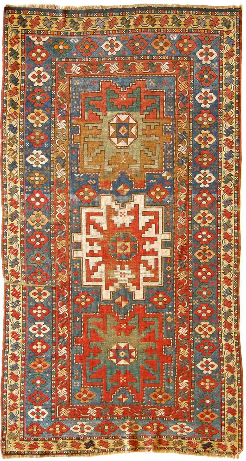 tappeto lesghi caucasico