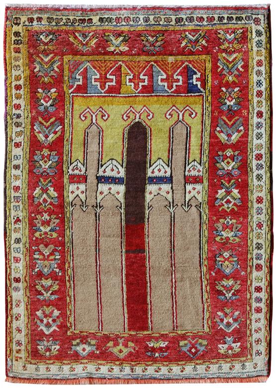 Tappeto a preghiera Karapinar 1930/1940