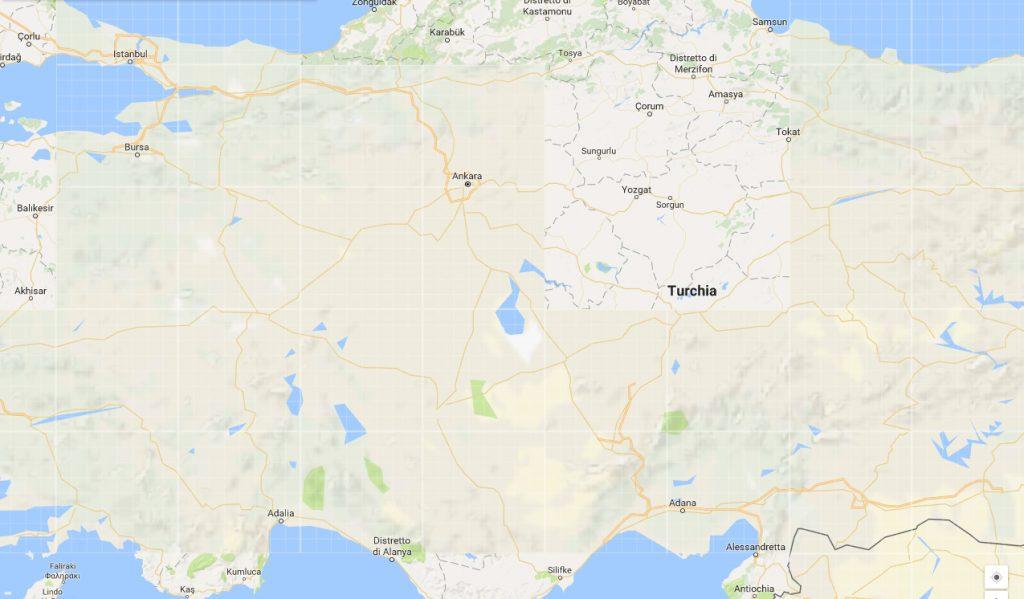 Turchia, Anatolia, Asia minore.