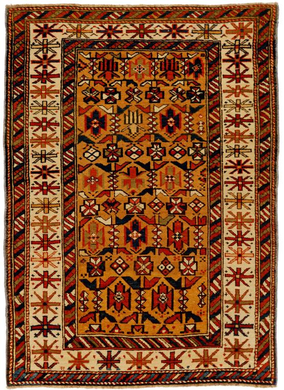 Ci ci tappeto caucasico antico