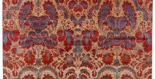Non voglio sentirmi dire che il tappeto è troppo ... ... Un manufatto d'arte come questo non è troppo! Non è troppo importante, non è troppo decorativo, non è troppo colorato; non è mai troppo bello!