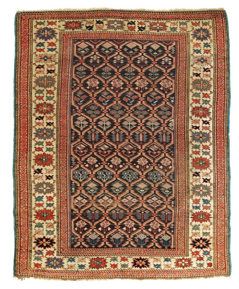 Tappeto caucasico antico Shirvan