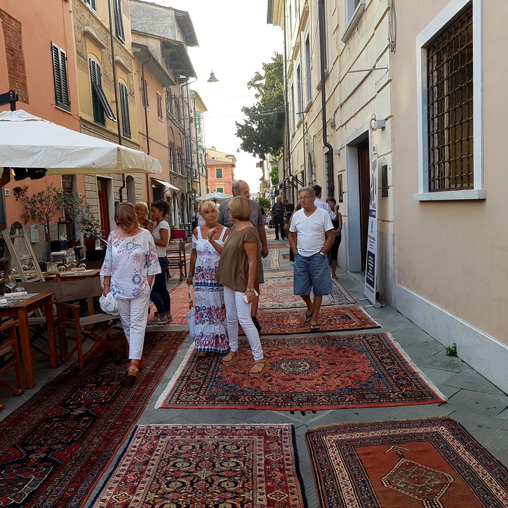 Dal distretto creativo Barsanti Notte creativa Pietrasanta 30-08-2019