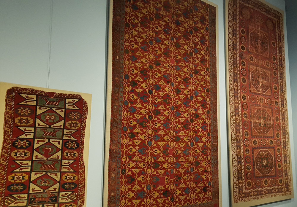 I tappeti del Pergamon
