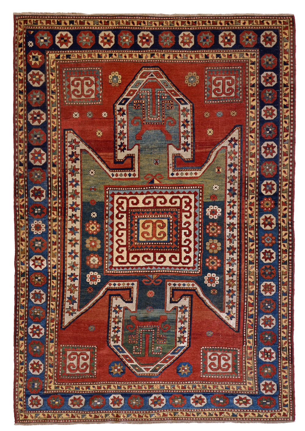 Pura iconografia dei Kazak a scudo