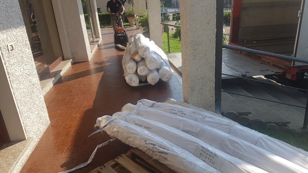 Nuova importazione tappeti contemporanei: scoprila in anteprima nella galleria di Pietrasanta