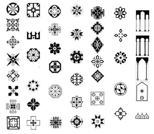 Tappeti persiani disegni geometrici idee per il design for Disegni della casa della cabina di ceppo