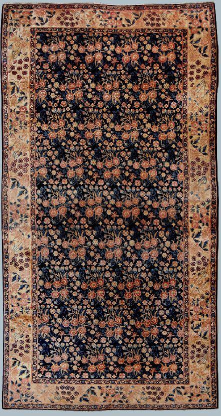 Kirman tappeto kelley a mazzetti di fiori morandi tappeti - Tappeti immagini ...
